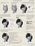 How to draw hair? RUS by Yakovlev-vad