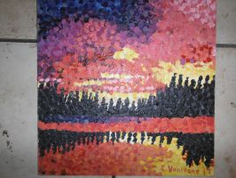 Seurat Painting Two by vansc14