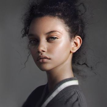 Portrait of Marina Nery by Nad4r