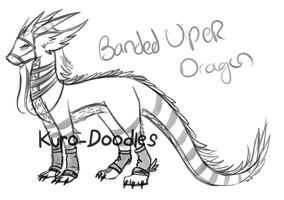 Banded Viper Dragon by Kuro-Doodles
