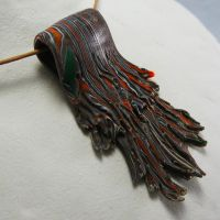 Wood Waterfall Pendant by Mdnghtkith
