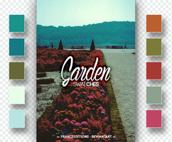 Garden // SWATCHES by FranceEditions