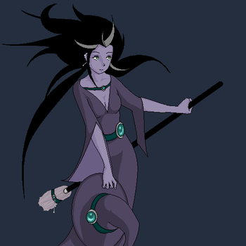 Bellflower the Witch by niagareven