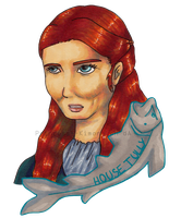 Catelyn of house Tully by Princess--Kimono