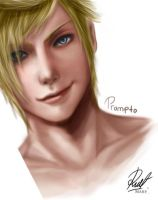 Prompto Argentum by Shadent-strife