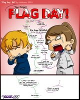 Flag Day, Eh by anibunny