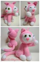 pink 2 faced kitty by andricongirl
