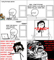 Every Time After Studying (Rage Comic 53) by 1RageComic1