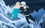 CM: Danny and Elsa Flying by jujaswe