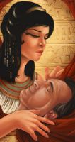 Mark Antony and Cleopatra by shinigami-sama
