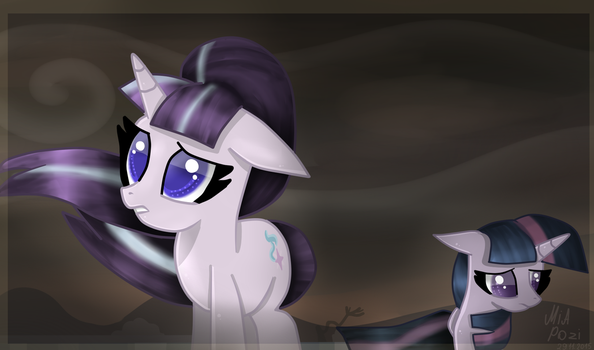 Starlight Glimmer and Twilight Sparkle by MiaPozi