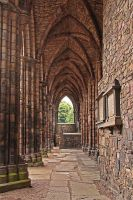 What Remains of Holyrood Church by AgiVega