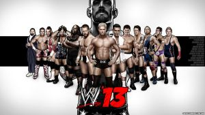 WWE'13 Wallpaper HD by sub1987thai