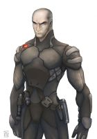 ConceptArt Oldies-Soldier Suit by dannlord