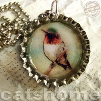 WILD BIRDS PENDANTS 3 by catshome