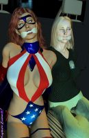 Captured Crimefighters By Captainzammo by spellbinder2012