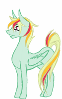 SpitDash Foal 1 : Apollo by luxrayfan33