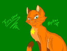 Firestar by Kaotheroogoncreator
