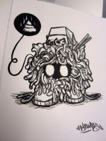 Tangela sketch by MarcosMachina