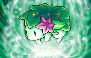 Shaymin by Mad-Stalker