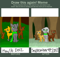 Draw This Again Meme Contest Thing owo by ShimooFox