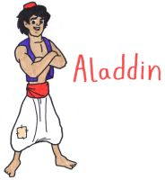 Aladdin by YouCanDrawIt
