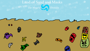 Land of Sand and Masks by arandombard