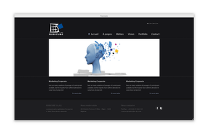 Rubicube ad agency website by 4rm