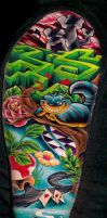 Sleeve on arm by WillemXSM