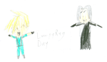 Sephy and Cloud say HLRD by Hannah-Needle