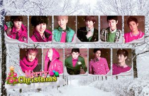 Have a SuJu Christmas by NileyJoyrus14