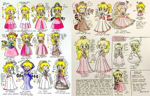 Princess Peach: Gowns All The Way From 1985 by Josh-S26
