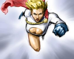 Power Girl by pungang