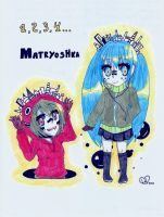 Old Matryoshka fanart by LilHeart