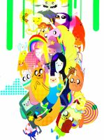 Adventure Time by Wabatte-Meru