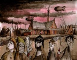 Children of the Apocalypse by Hebbybobdige