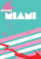 Hotline Miami Poster by SleazySalad