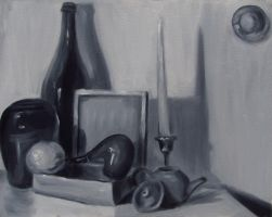Still Life in black and white by Zerochan923600