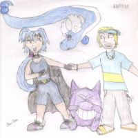 Pokemon - new Clair and Morty by Star-Clair
