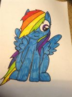 Rainbow dash by bloostormbrony