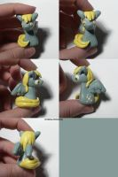 Derpy Hooves Sculpture by ChibiSilverWings