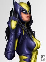 X-23 by birdmanstudio