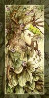 Dogwood Dryad by MisticUnicorn