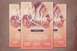 Examining Jesus Church Flyer Template by loswl