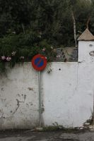 sign and traditional wall by dimajaber
