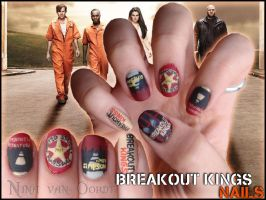 Breakout kings nails by Ninails