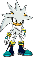 Silver The Hedgehog - Art v.3 by Tails19950