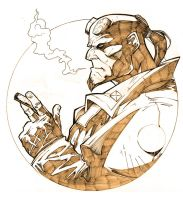 hellboy by chavana