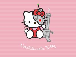 Hastalavista Kitty by Tha-Fire-Dude