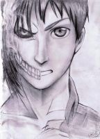 Attack on Titan-Eren by Jeageractive